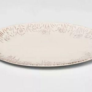 15×10 threshold embossed serving platter